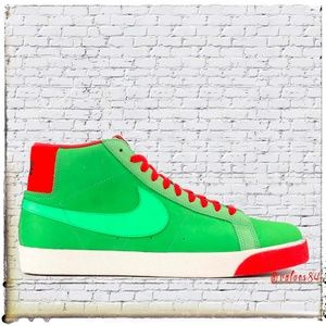 Nike Blazer Premium SB Green Spark